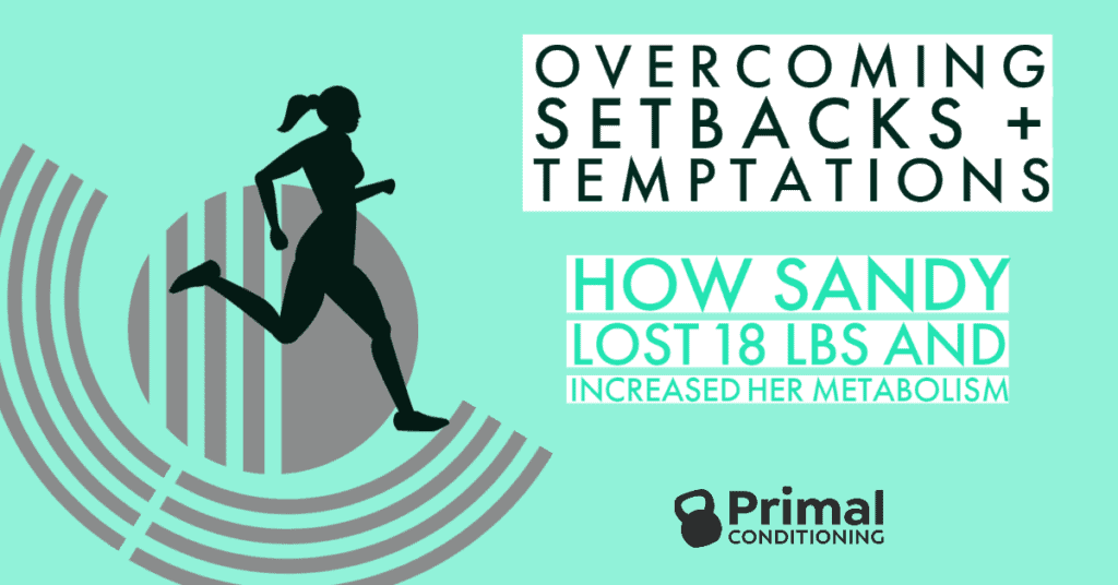 Overcoming setbacks to lose weight